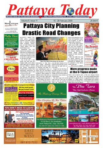 4f8e45cba0a Vol. 8 No. 11  16 - 28 February 2009 by Pattaya Today - issuu