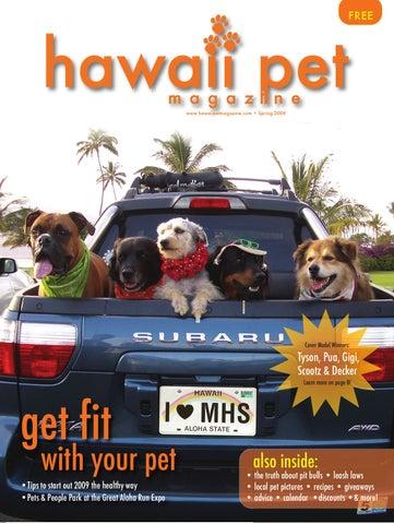 088bcdccd3fc Hawaii Pet Magazine - Spring 2009 by Hawaii Pet Magazine - issuu