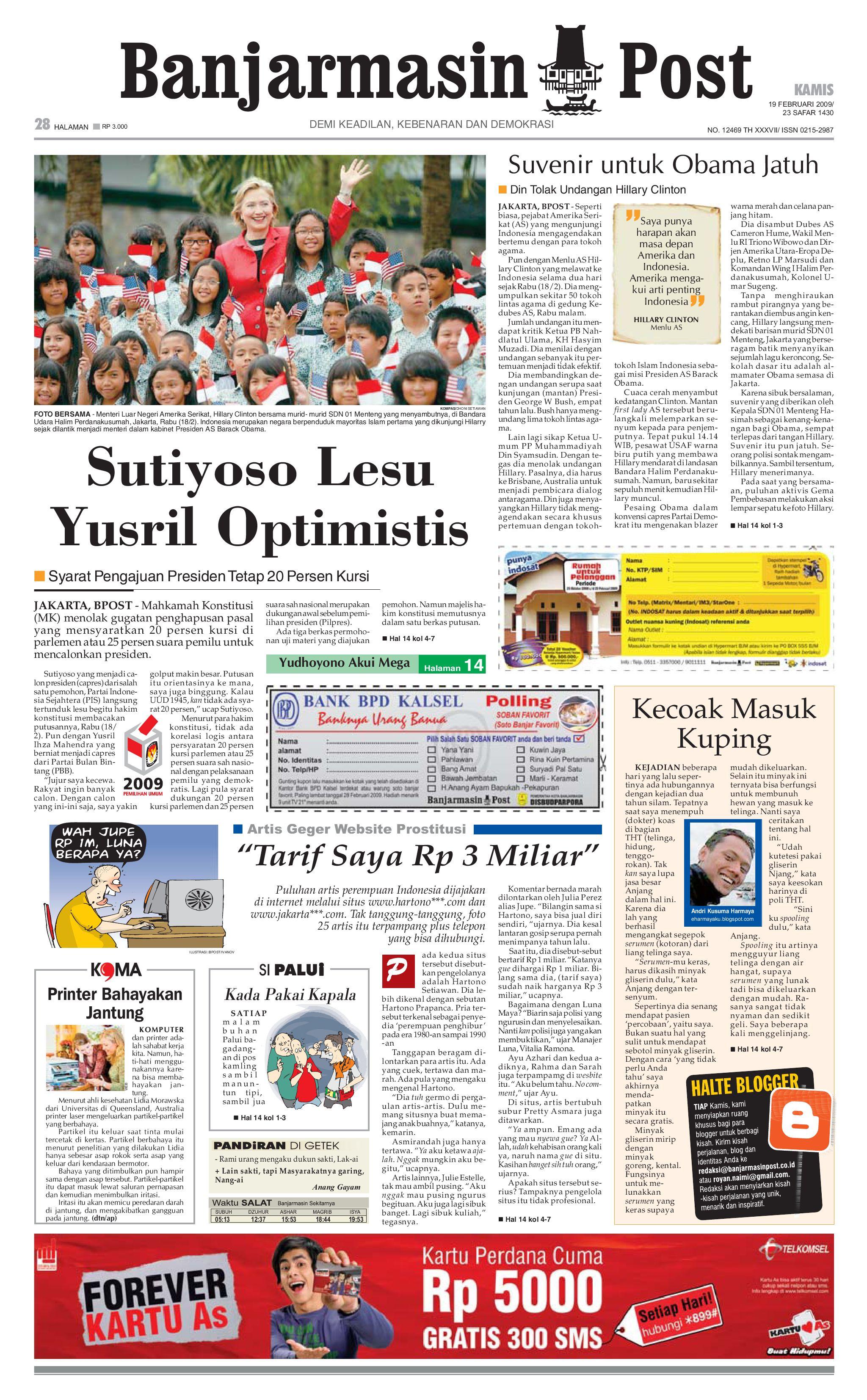 tribunkaltim 15 november 2009 by tohir tribun issuu