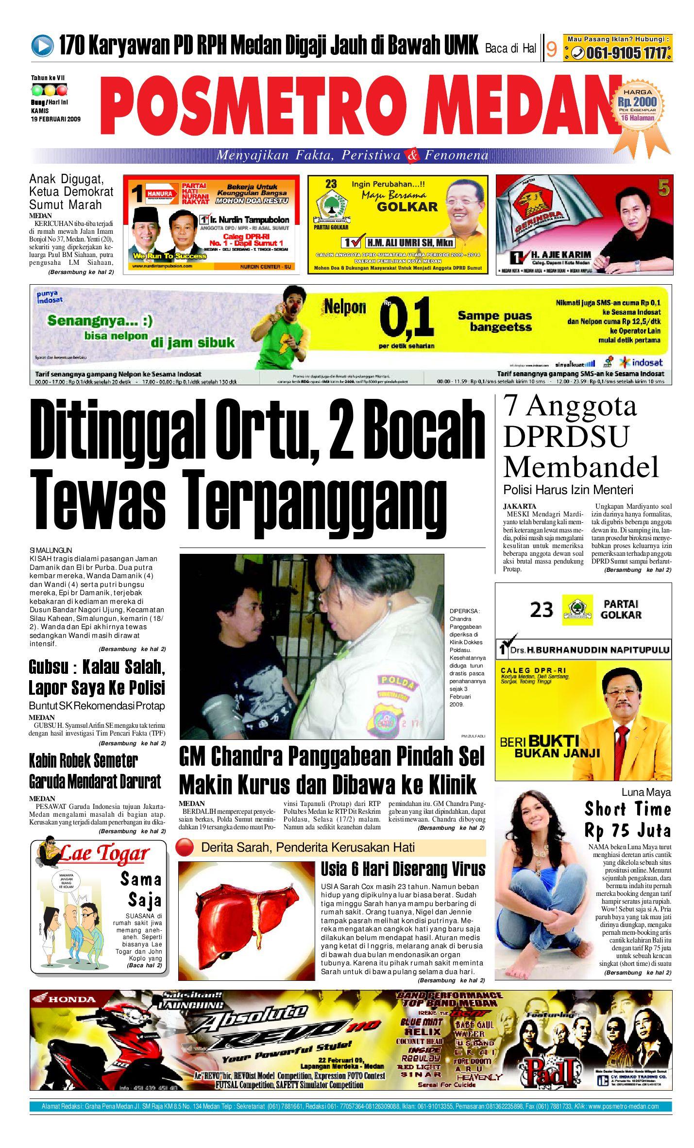 Posmetro Medan By Simon Sinaga Issuu Gendongan Bayi Depan Mbg 6201 Free Ongkir Jabodetabek