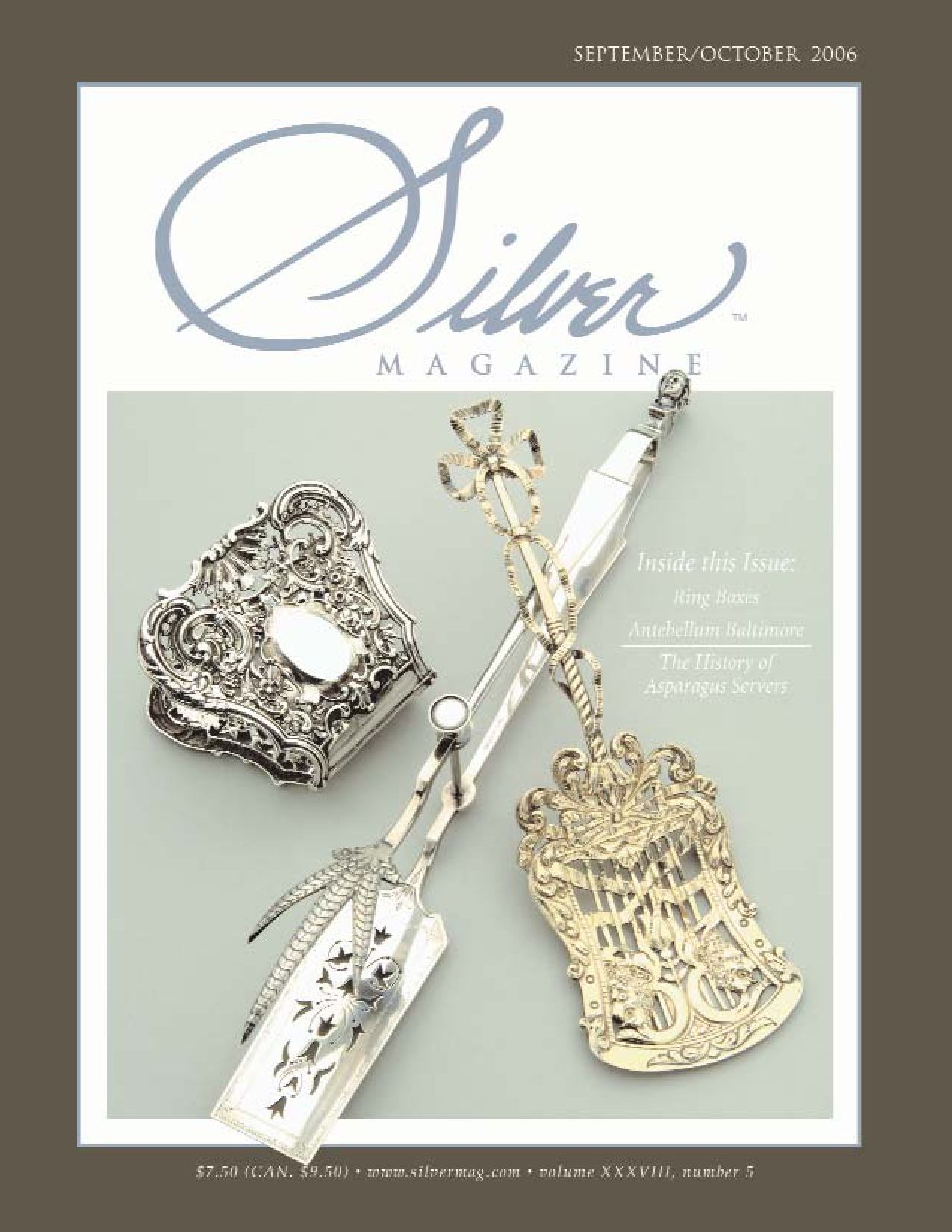"""Lady Windsor aka Victoria New by Wallace Sterling Asparagus Server Custom 9/"""""""