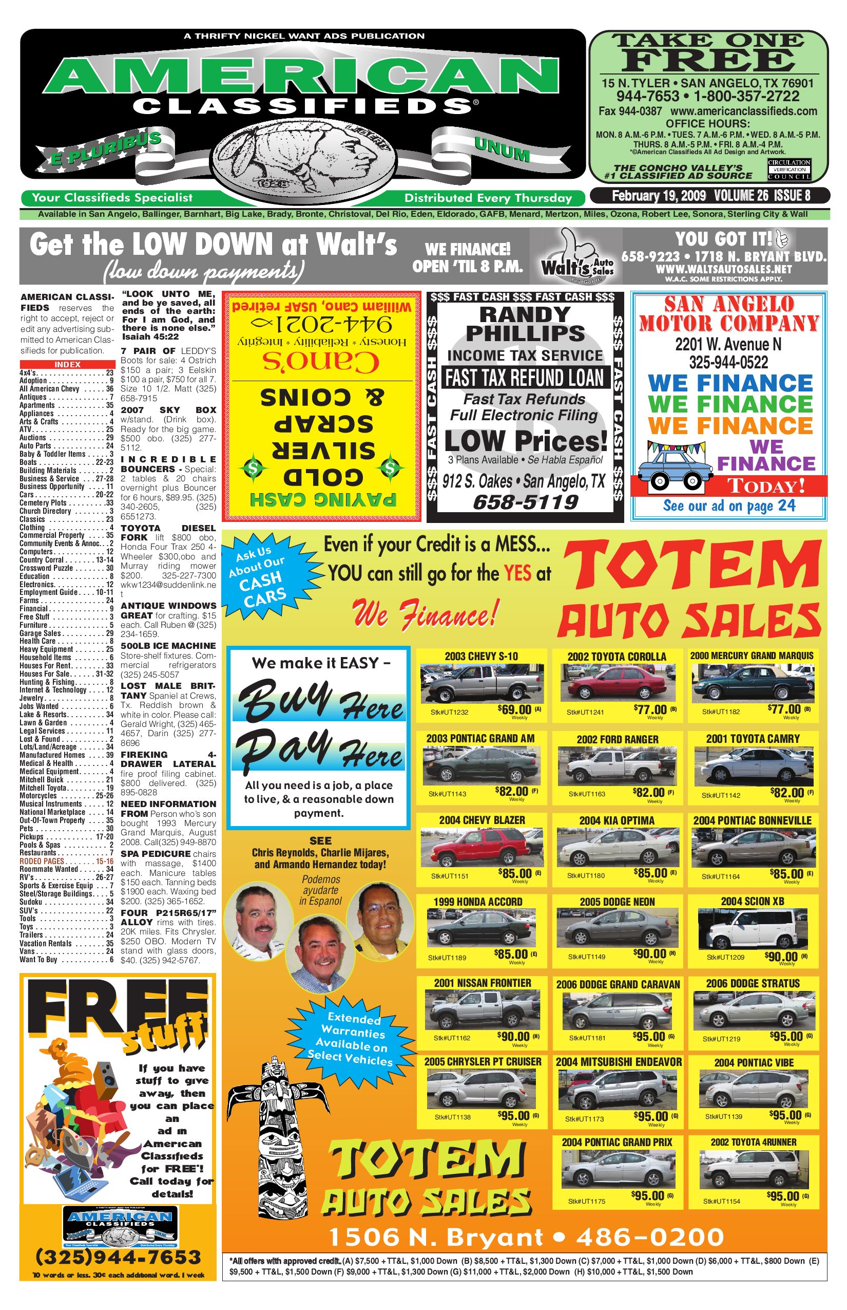 16fde0d2 San Angelo American Classifieds by San Angelo American Classifieds - issuu