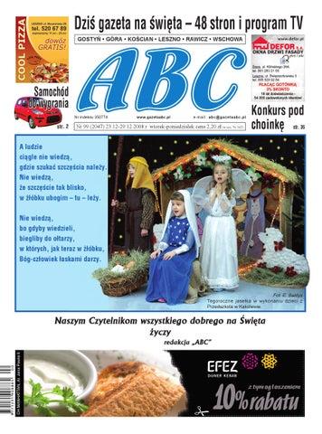 Gazeta Abc 23 Grudnia 2008 By Sekretarz Redakcji Issuu