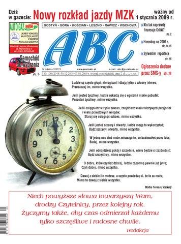 Gazeta Abc 30 Grudnia 2008 By Sekretarz Redakcji Issuu