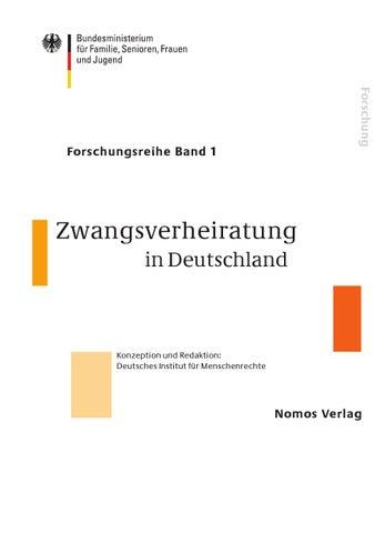 Zwangsverheiratung in Deutschland by Goetz Nordbruch - issuu