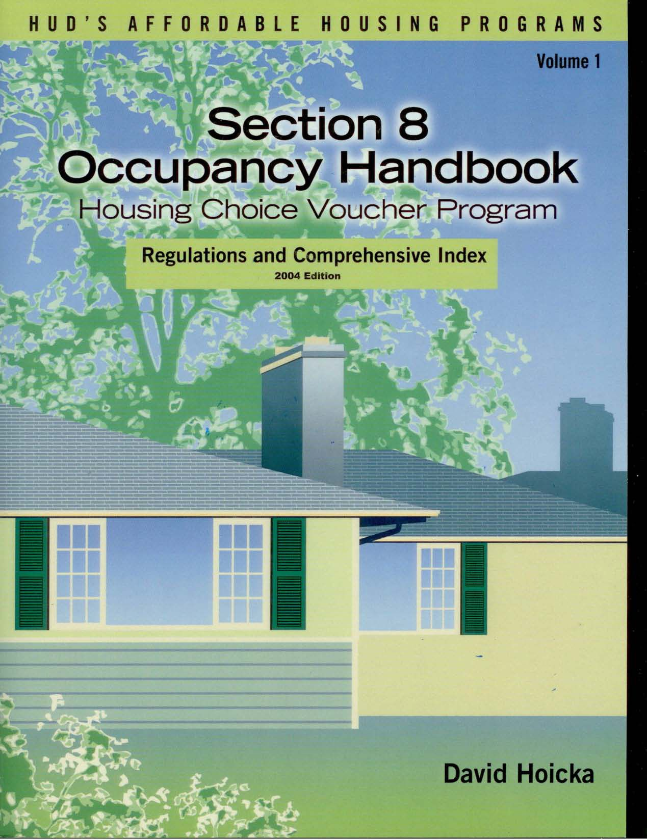 section 8 housing choice voucher handbook and index - david hoicka