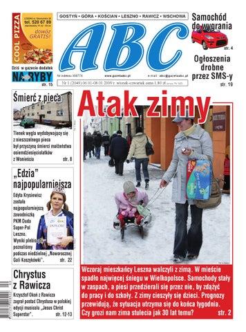 3e23080dc033f Gazeta ABC - 6 stycznia 2009 by Sekretarz redakcji - issuu