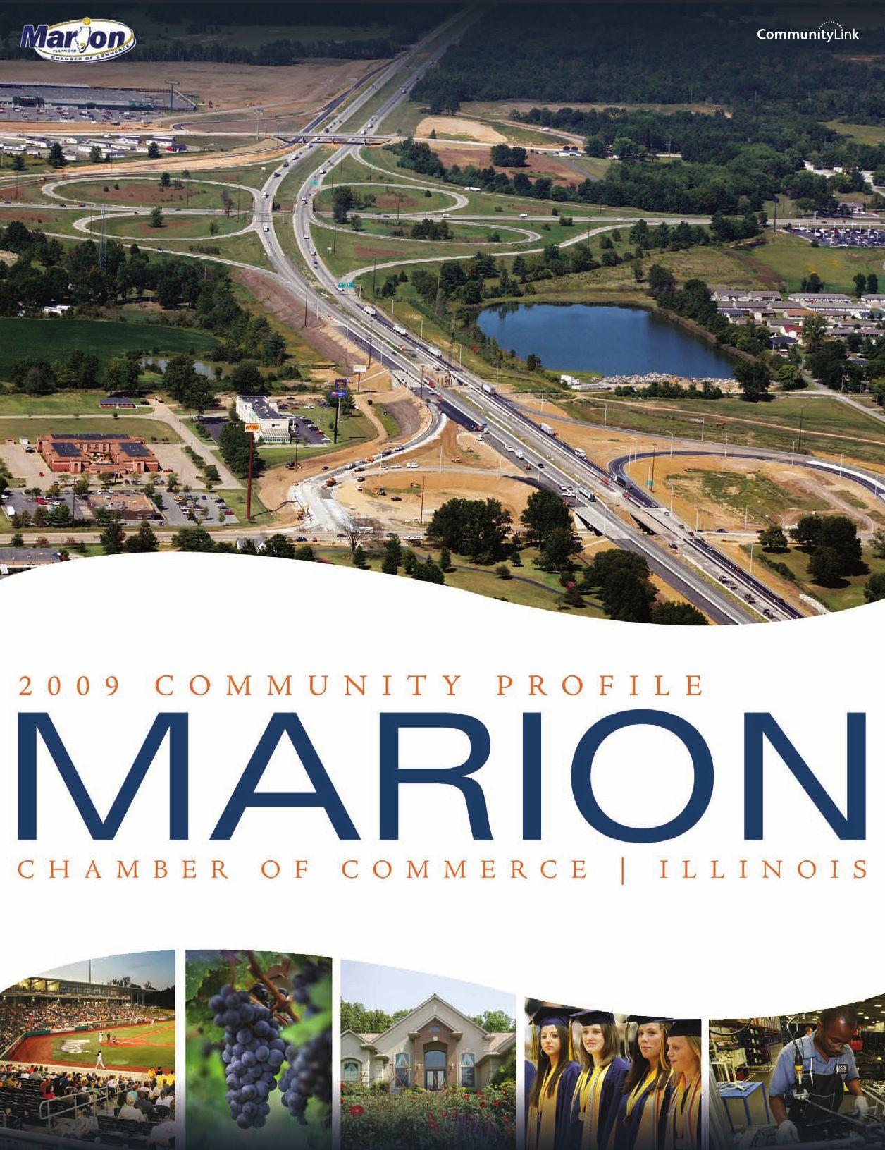 Marion, IL 2009 Community Profile by Tivoli Design + Media