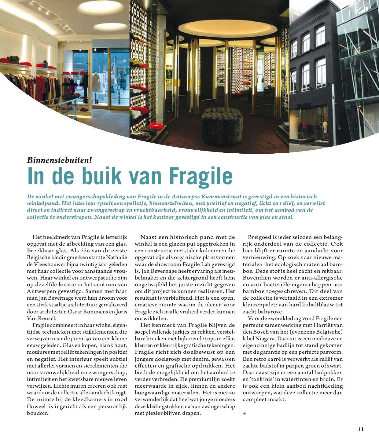 Fragile Zwangerschapskleding.Xs Junior Magazine By Stijn Wens Issuu