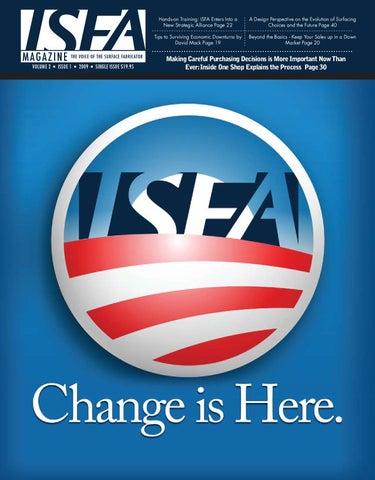 ISFA Magazine, vol  2, issue 1, 2009 by ISFA - issuu