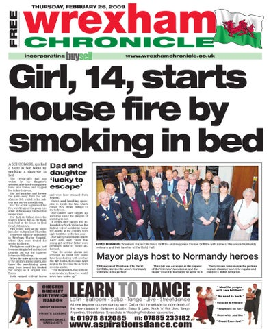 Wrexham chronicle b 26209 by james shepherd issuu wrexham malvernweather Choice Image