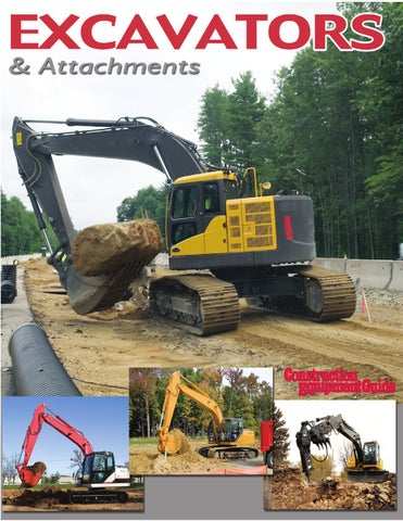 Excavators and Attachments 2009 by Construction Equipment