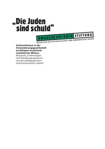 """Die Juden sind schuld"""" by Goetz Nordbruch - issuu"""