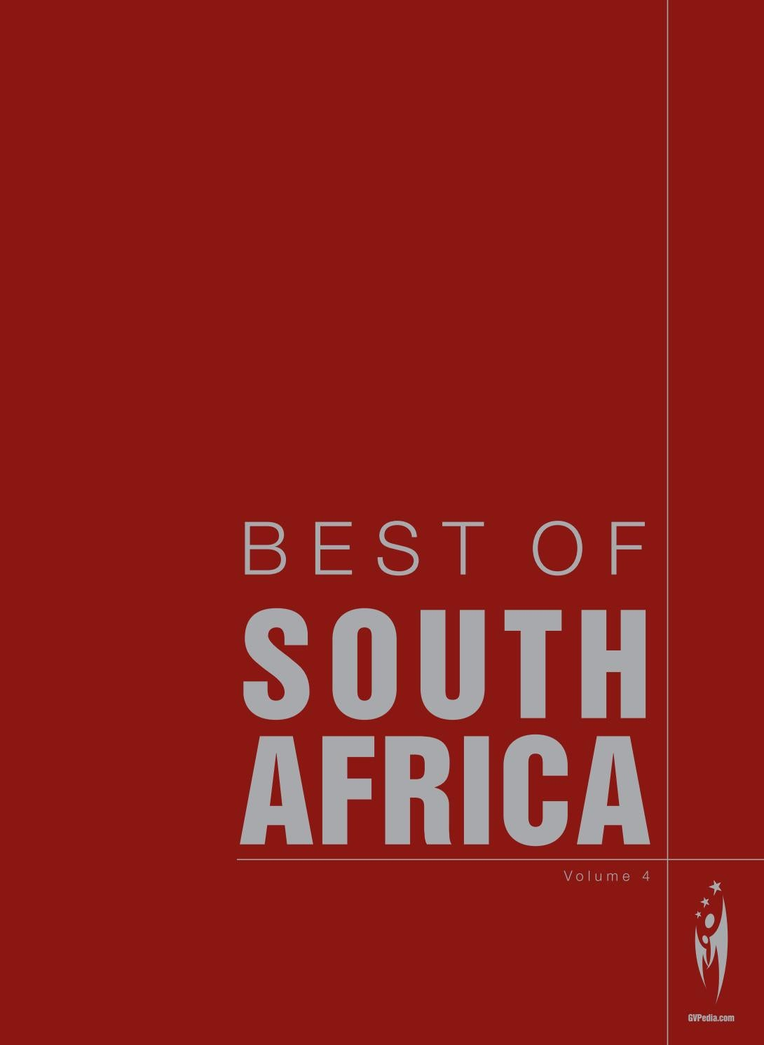 1adb3d4939d BEST OF SOUTH AFRICA - Volume 4 by Sven Boermeester - issuu
