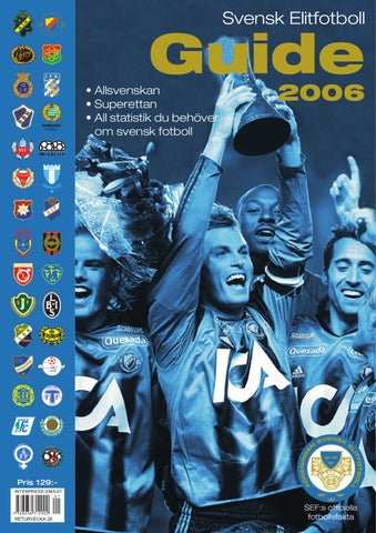 finest selection 0aa8a 0fe01 Svensk Fotboll Guide 2006 by Joachim Lindgren - issuu