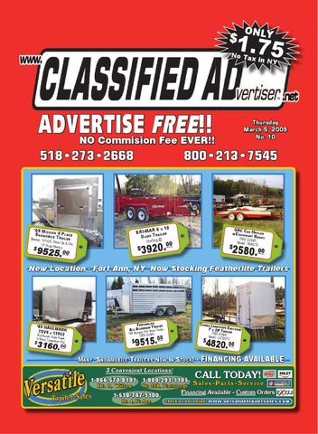 0b1c5730ae1 Classified Advertiser Issue  10 by Donna Novotny - issuu