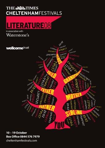 Cheltenham Literature Festival Brochure 2008 By Cheltenham Festivals
