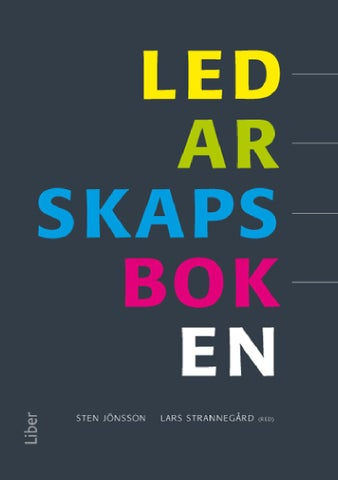 Ledarskapsboken by Smakprov Media AB - issuu 7d27f65d7d984