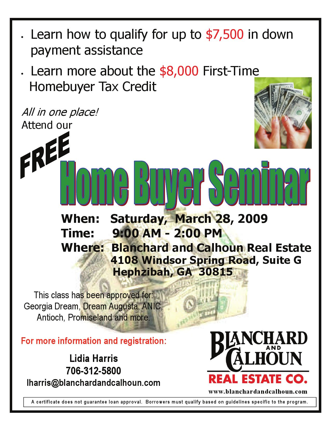 First Time Home Buyer Seminar flyer by Jessica Neville - issuu