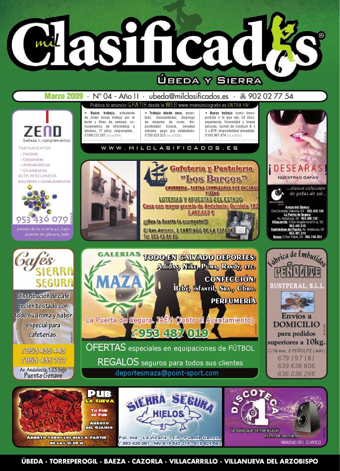 Milclasificados Edici N Beda Y Sierra Marzo 2009 By El  # Muebles Juigmar