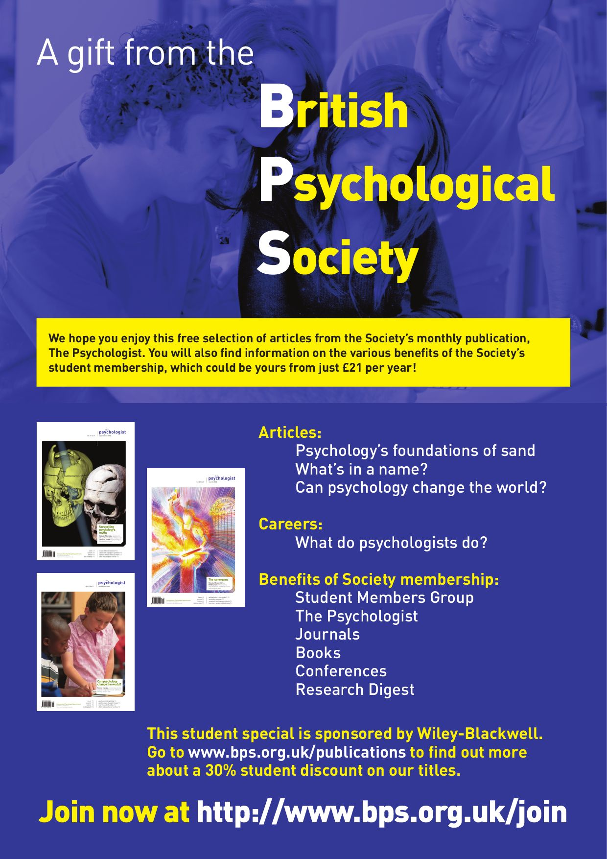 Psychology: a selection of articles