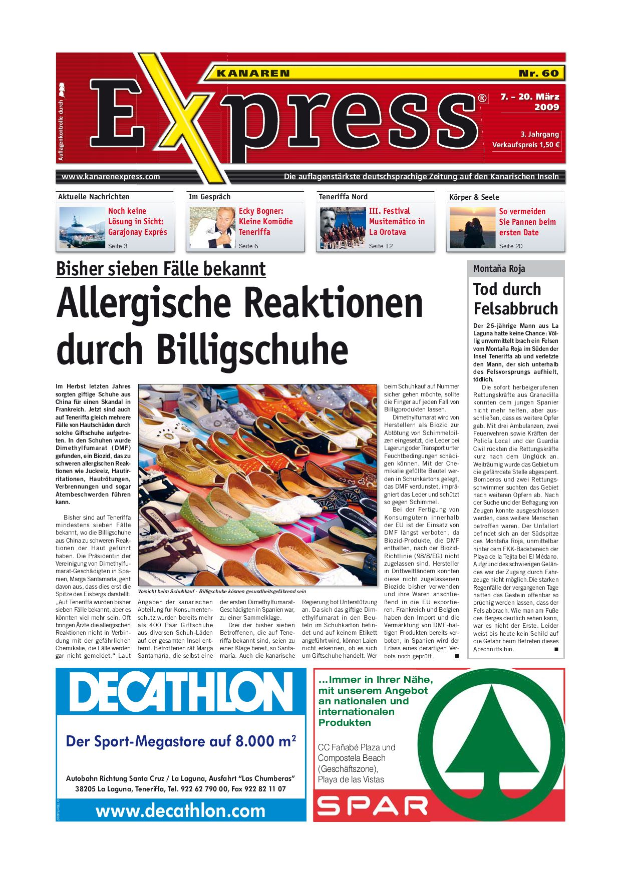 Kanarenexpress Ausgabe 60 by Island Connections Media Group - issuu