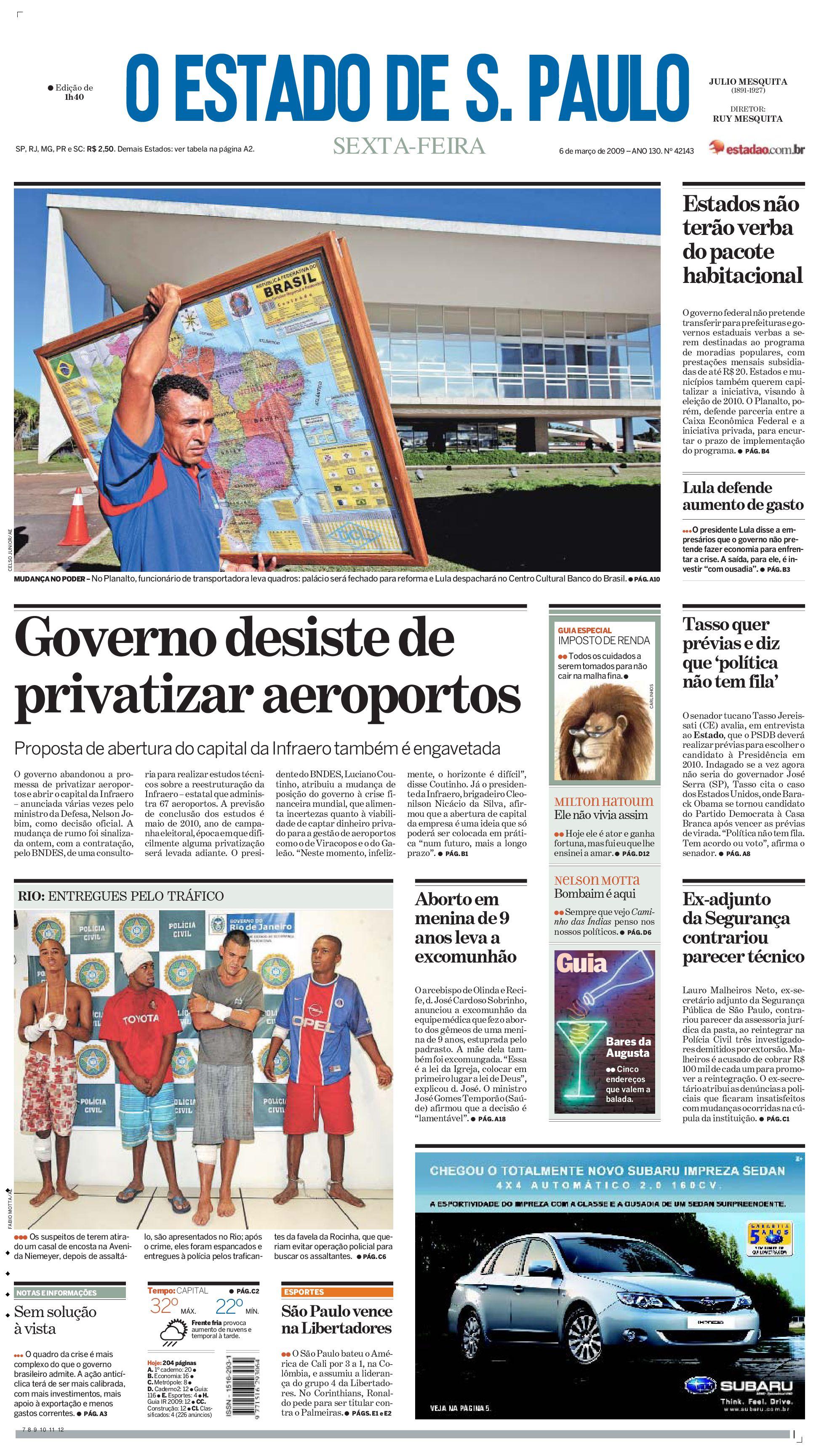 Estadão - O Estado de São Paulo by O Estadão do Norte - issuu 5c8e648622fa4