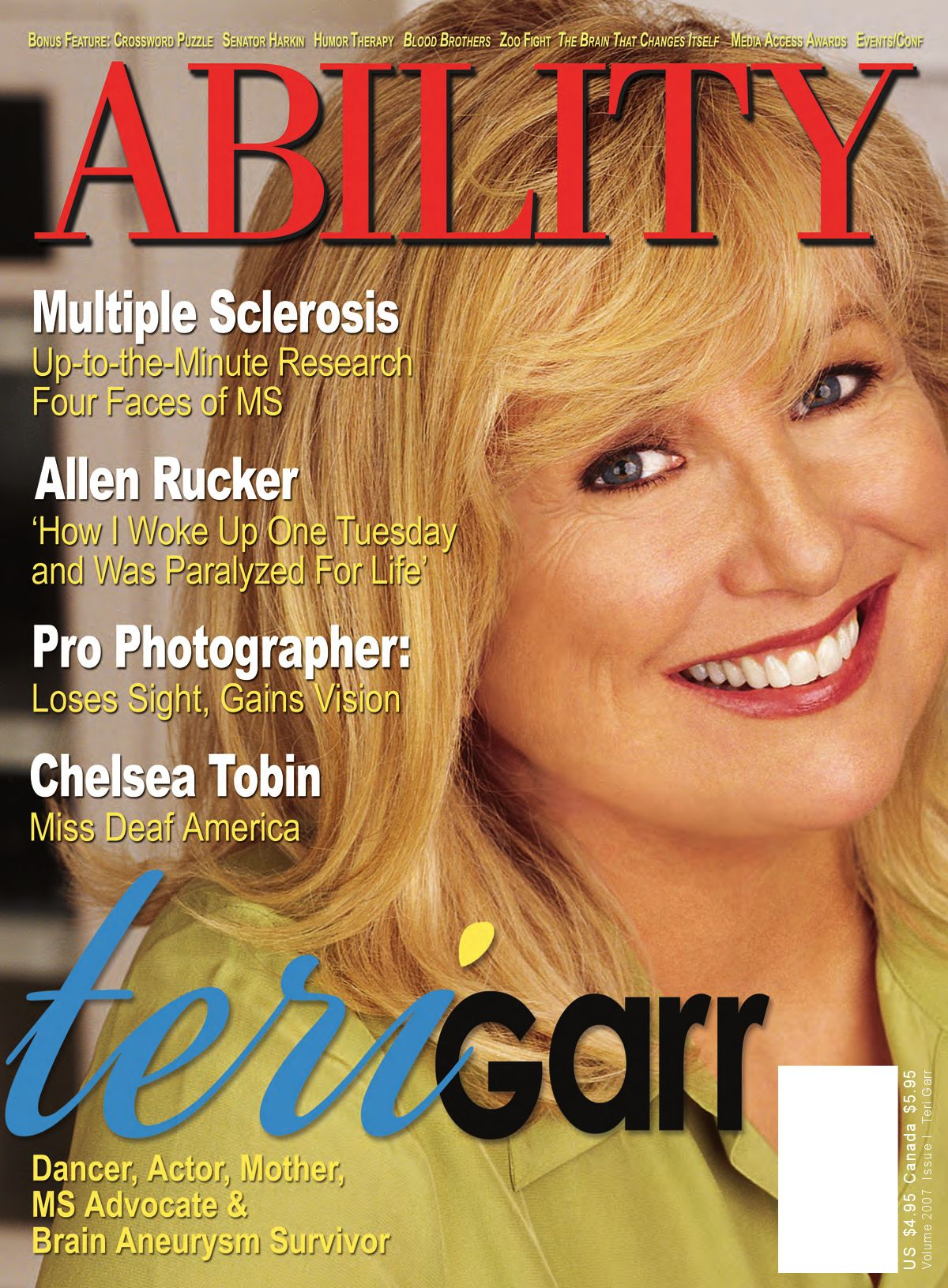 ABILITY Magazine Teri Garr by ABILITY Magazine - issuu
