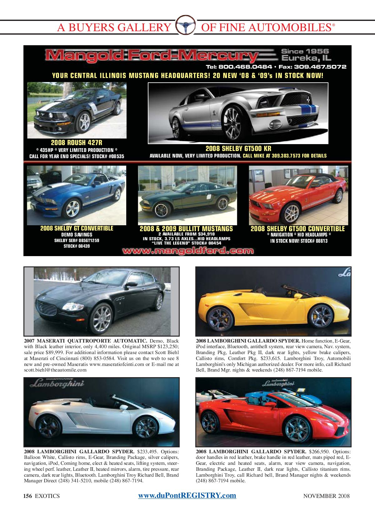 duPontREGISTRY Autos November 2008 by duPont REGISTRY - issuu