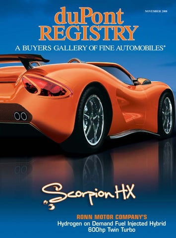 duPontREGISTRY Autos November 2008 by duPont REGISTRY - issuu on