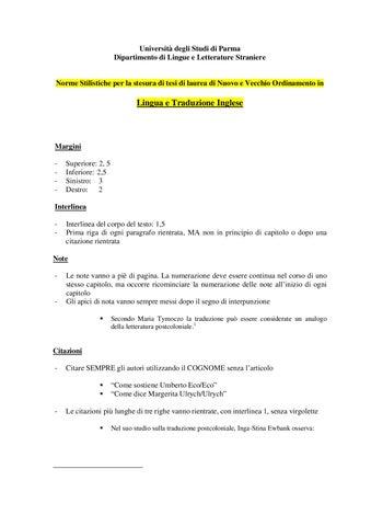Norme Citazionali Lingua Inglese By Bibliopatente Online Issuu