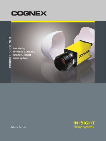 Cognex - Brochure In Sight Micro by Jaime Forero - issuu