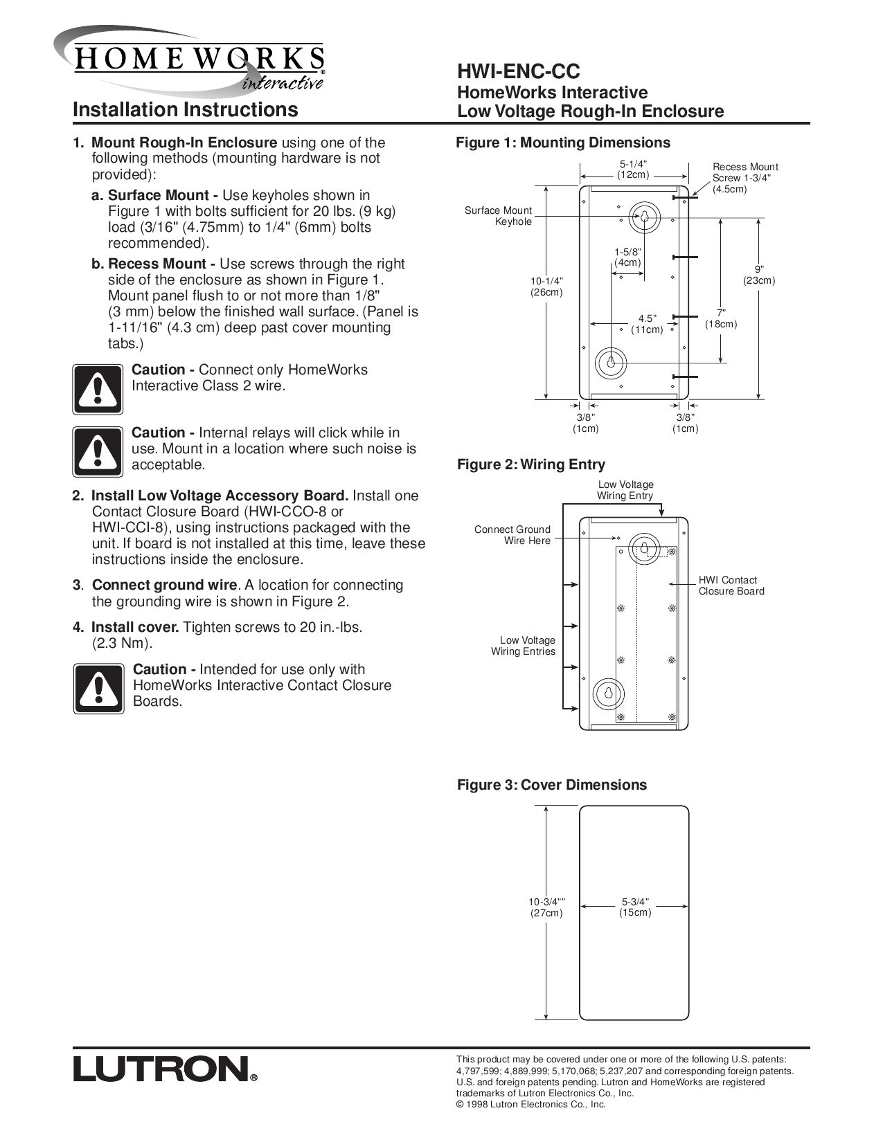 Hwi Enc Cc Installation Instructions 1 Mount By Exclusive Lighting Lutron Mar Wiring Diagram Solutions Issuu