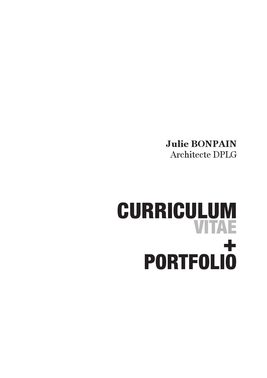 Portfolio architecte by julie bonpain issuu for Pc modificatif