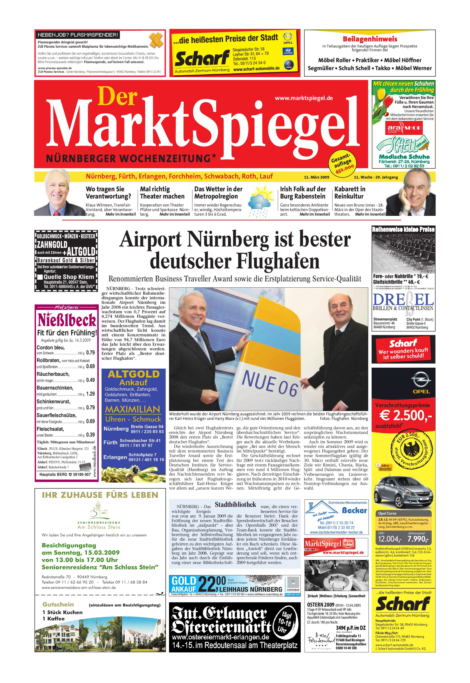 Der MarktSpiegel KW 11 09 by A Kreklau issuu