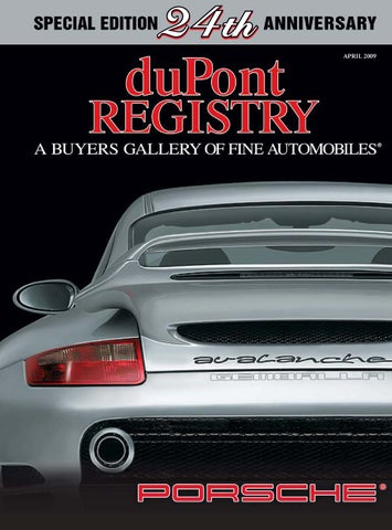 DuPontREGISTRY Autos April 2009 By DuPont REGISTRY   Issuu