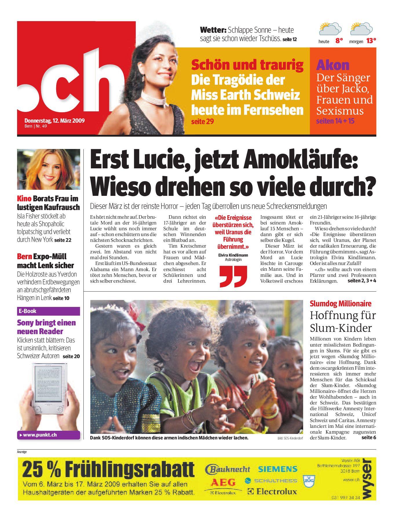 Friedenspfeife - Simmental Zeitung