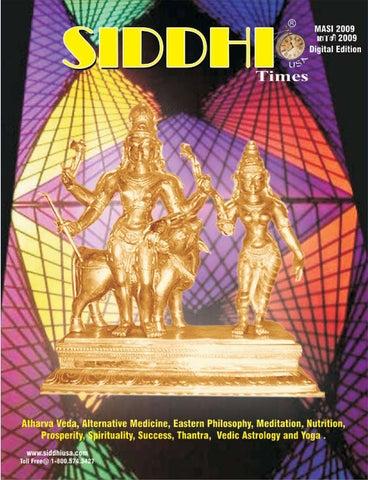 Siddhi Times Fortnight Edition Masi  Dr Commander Selvam