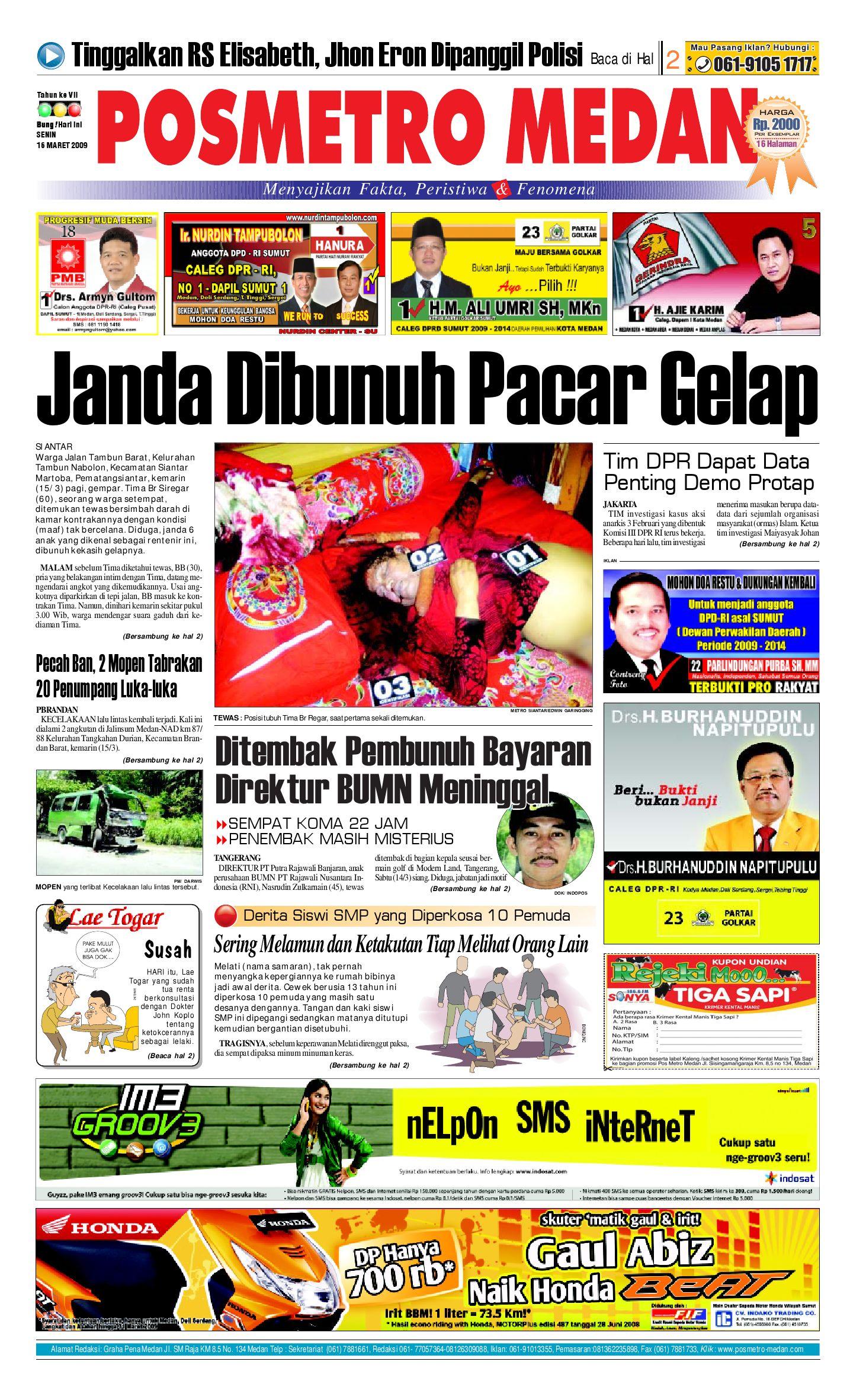 Posmetro Medan By Simon Sinaga Issuu Tcash Vaganza 17 Samsung Adaptor Fast Charging Kualitas Original Putih