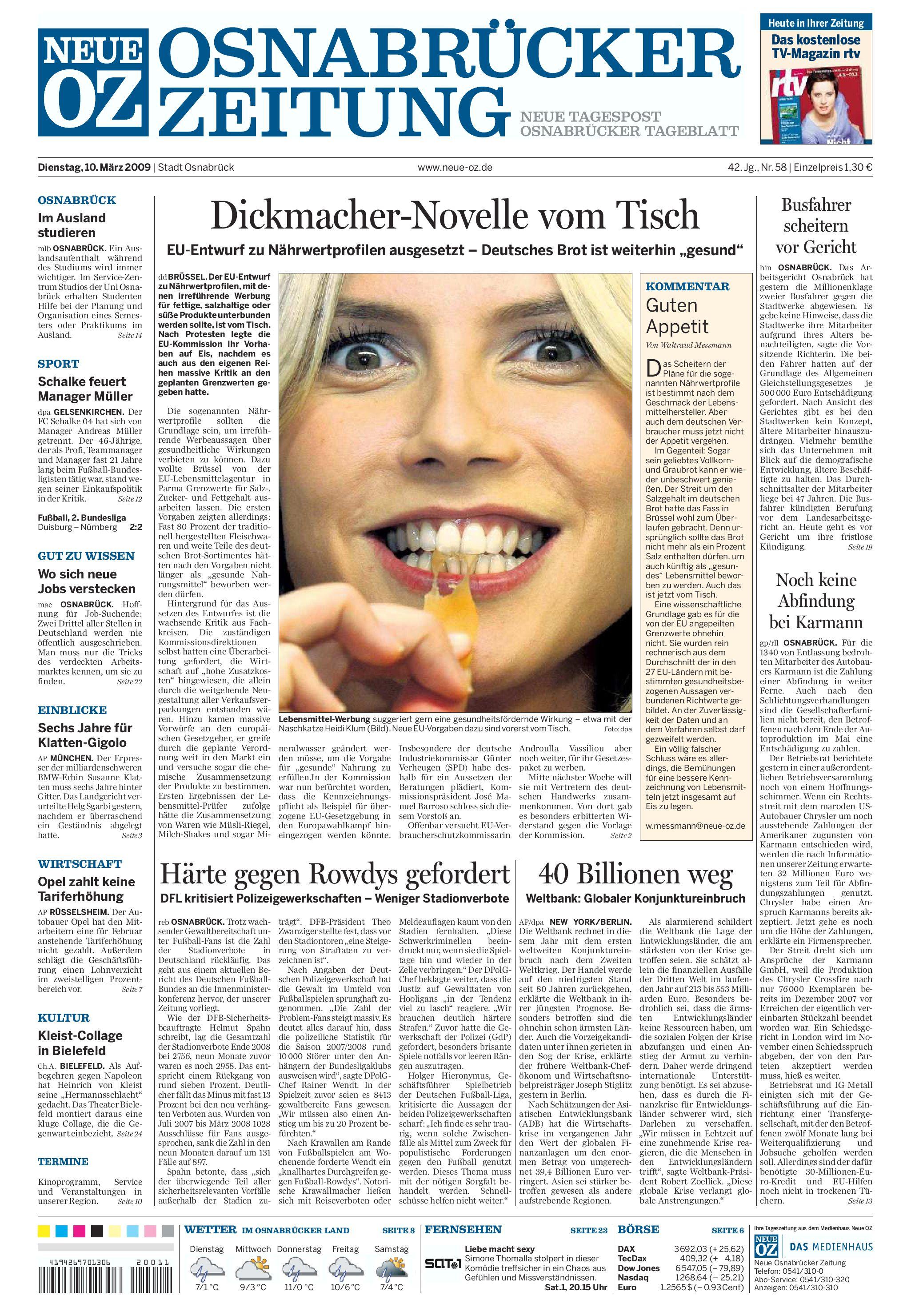 Neue Osnabrücker Zeitung by Alexander Pauly - issuu