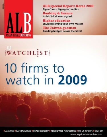 0657b646797e Asian Legal Business (Hong Kong) Jan 2009 by Key Media - issuu