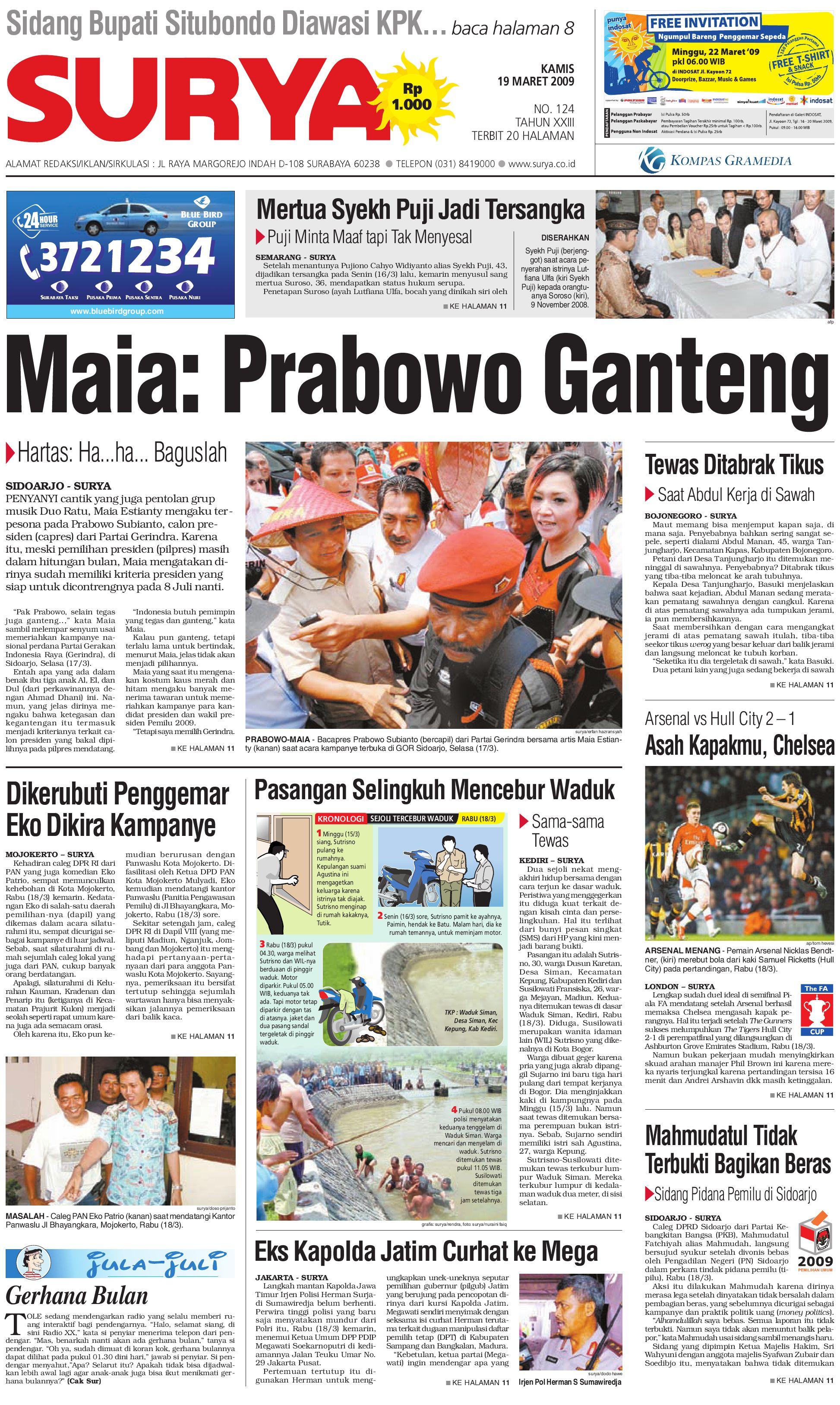 Surya Edisi Cetak 19 Maret 2009 By Harian Issuu Produk Ukm Bumn Tekiro Tang Kombinasi 7