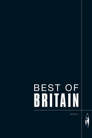 BEST OF BRITAIN - Volume 1 by Sven Boermeester - issuu d2cd5824103