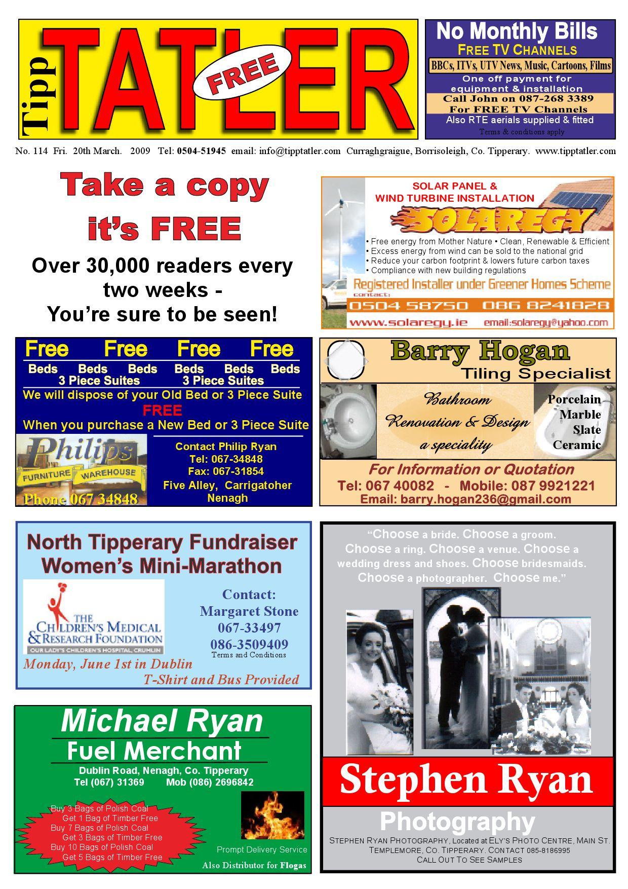 tipp tatler issue 114 march 2009 by tipp tatler issuu