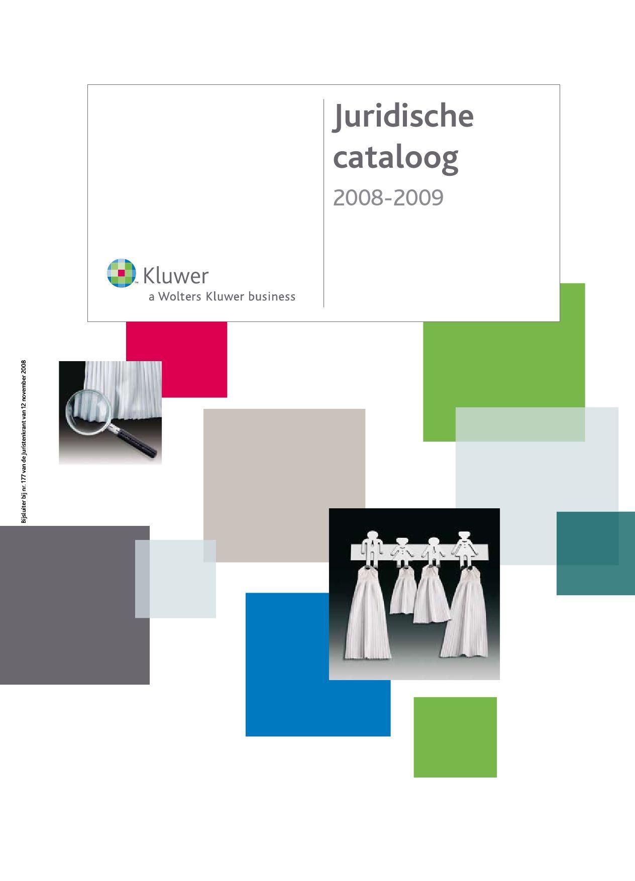 Kluwer Juridische Catalogus 2008 2009 By Cristel Deham Issuu