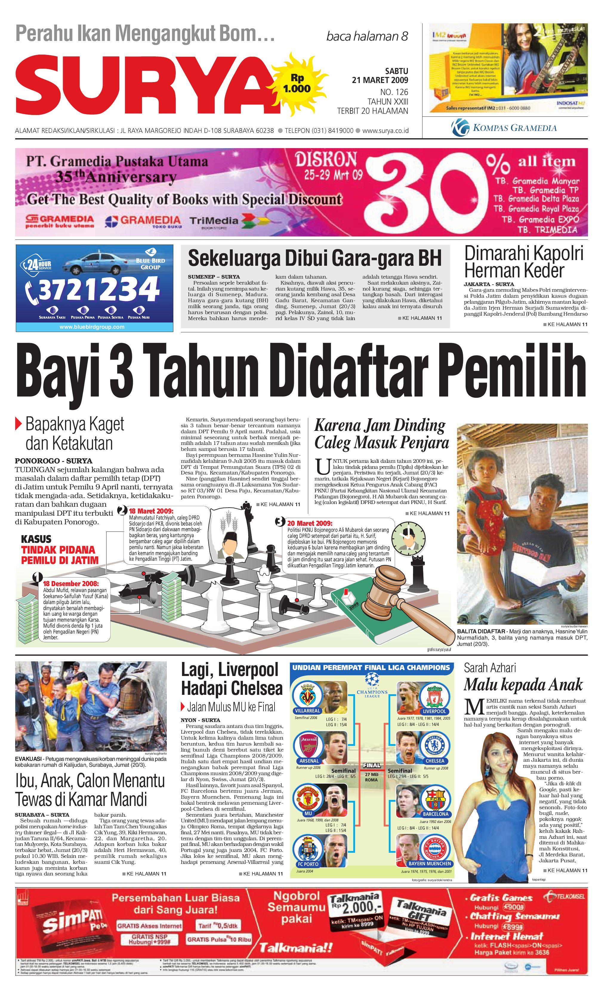 surya edisi cetak 24 juli 2010 by harian surya issuu