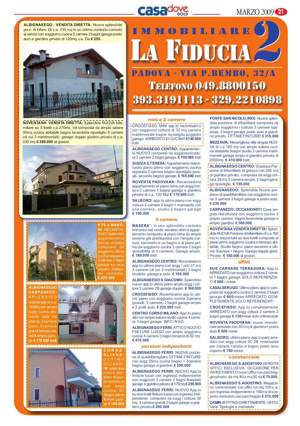 CASA DOVE PADOVA Marzo by B&P Editori - issuu