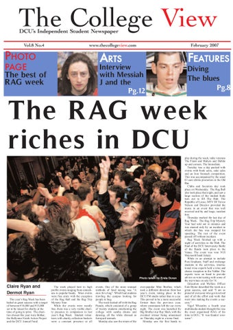 The College View DCU s Independent Student Newspaper 822013ebf7a3