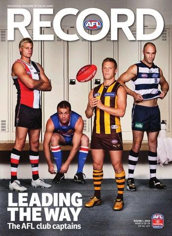 c79c1a8187d AFL Record 2009 - Round 1 AFL Premiership Season by The Slattery ...