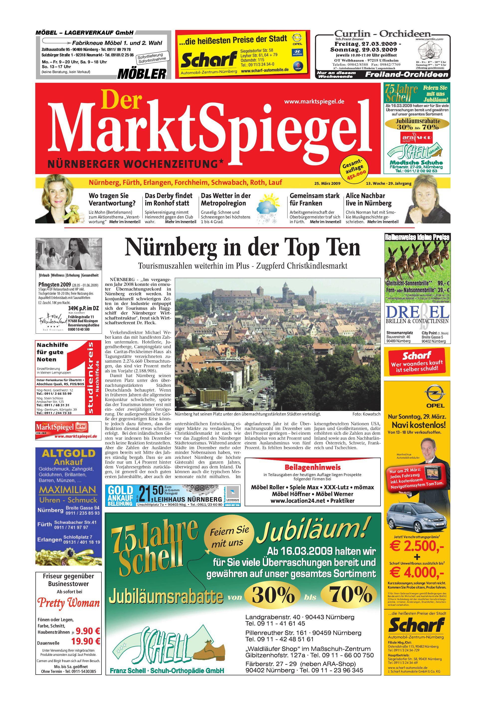 Der MarktSpiegel KW 13 09 by A Kreklau issuu